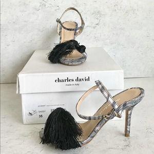Charles David Sassy heels. Size 5/35. NWTS.